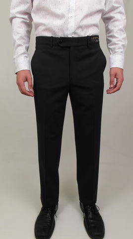 Gala - V1 - Dress Pant - Classic Fit - (flat front) - Wool Blend