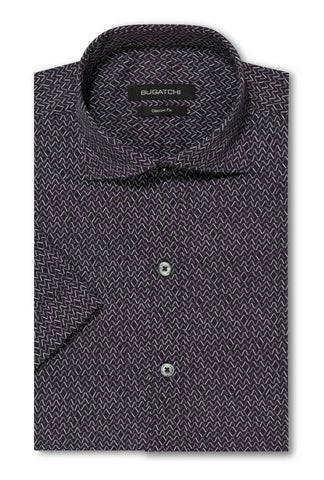 BUGATCHI - Short Sleeve Performance Shirt - NBS847S10