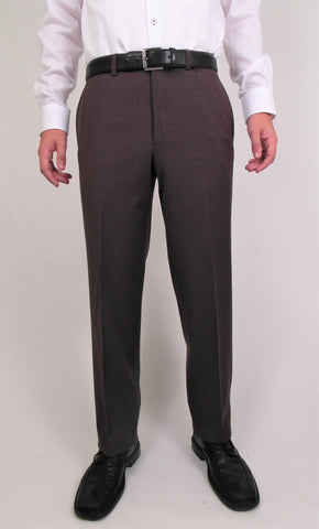 Riviera - Traveler - Wool Blend - Classic Fit - R595-3 Chestnut, Dark Brown