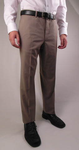 Riviera - Traveler - Wool Blend - Classic Fit - R595-4  Khaki, Tan, Summer Taupe