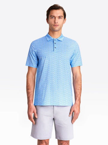 Bugatchi - Polo Shirt - OoohCotton Tech - 8 Way Stretch - Modern Fit - Easy Care - RF8443F79