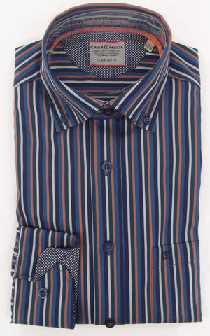 Casa Moda - Long Sleeve Shirt - 452289100 - BrownsMenswear.com - 1