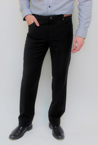 Riviera - Journey - 5 Pocket Dress Pant - Wool Blend - R595 - BrownsMenswear.com - 1