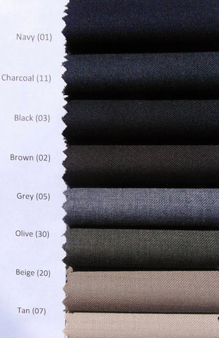 Gala - J1 - Wool Dress Pant - Flat Front and Single Pleat Front - BrownsMenswear.com - 4
