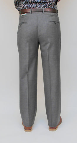 Gala - J1 - Wool Dress Pant - Flat Front and Single Pleat Front - BrownsMenswear.com - 3