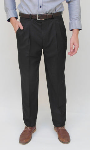 Gala - A1 - Dress Pant - Yates (double pleat front) - Washable - Sizes 28 to 46 - BrownsMenswear.com - 1