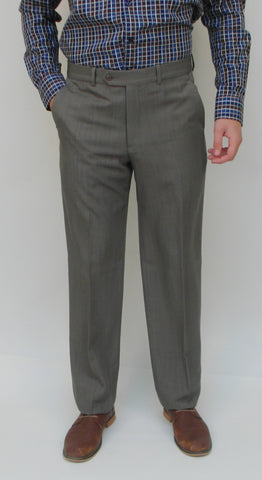 Gala - S-8 BT - Dress Pant - Marco (plain front) - Big and Tall - Washable - Sizes 46 to 54 - BrownsMenswear.com - 1
