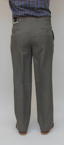 Gala - S-8 BT - Dress Pant - Marco (plain front) - Big and Tall - Washable - Sizes 46 to 54 - BrownsMenswear.com - 4