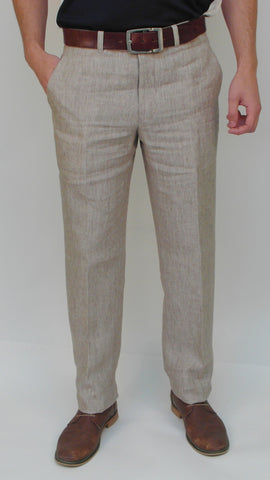Gala - M9 - Dress Pant - Linen Marco - Sizes 30 to 46 - BrownsMenswear.com - 1