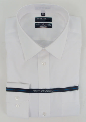 Leo Chevalier - Tall Dress Shirts - 225170QT - Big and Tall - BT - BrownsMenswear.com - 3