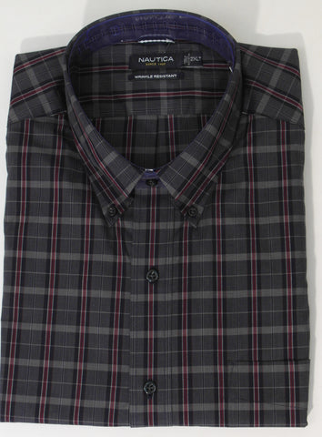 Nautica - Long Sleeve Shirt - Big and Tall - M43921C - BT Clearance
