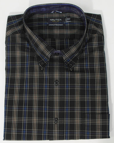 Nautica - Long Sleeve Shirt - Big and Tall - M34604C - BT Clearance