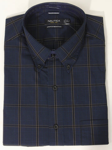 Nautica - Long Sleeve Shirt - Big and Tall - M40854 - BT Clearance