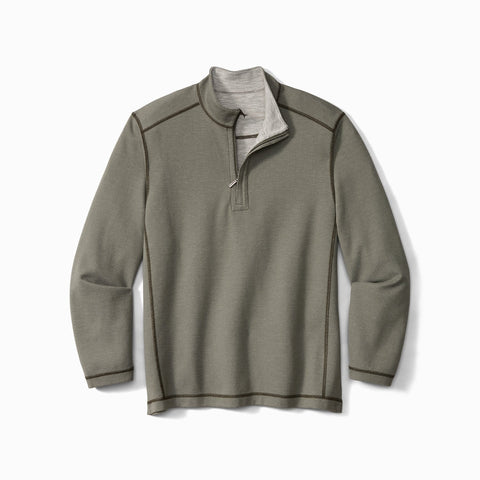 Tommy Bahama - Reversible Half Zip Sweater - ST225335 - Clearance