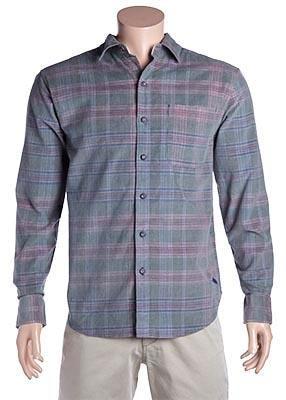 Tommy Bahama -  Tropi-Cord Check - Long Sleeve Shirt - ST325045