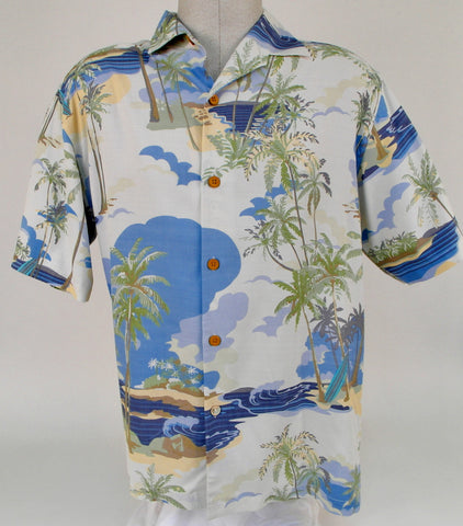 Tommy Bahama Silk Shirt - T310314 - BrownsMenswear.com - 1