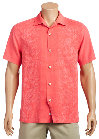 Tommy Bahama -  Silk Shirt - Kamari Border - T319059 Clearance