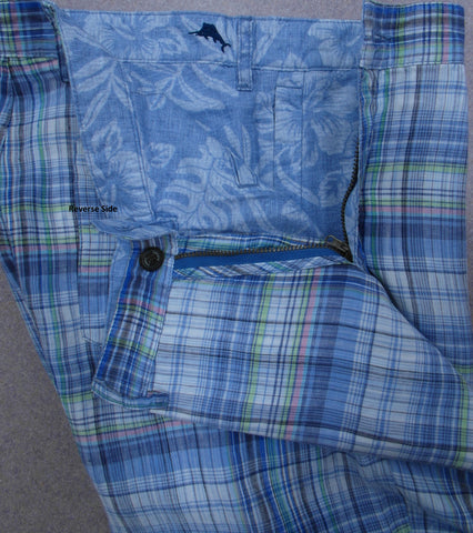 Plaid and Floral Reversible Men's Short by Tommy Bahama