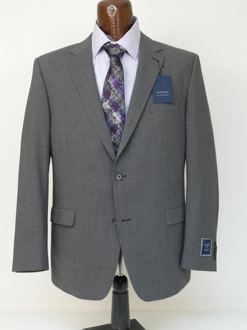 S. Cohen - Smart Suit Jacket - 4J00S1 - USMART - Classic Fit - Bankers Grey