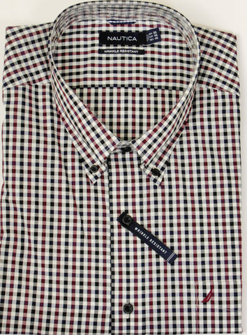 Nautica - Long Sleeve Shirt - Big and Tall - M63C63 - BT Clearance