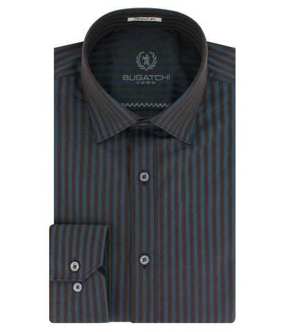 Bugatchi - Long Sleeve Shirt - AS4508L14S - BrownsMenswear.com - 2