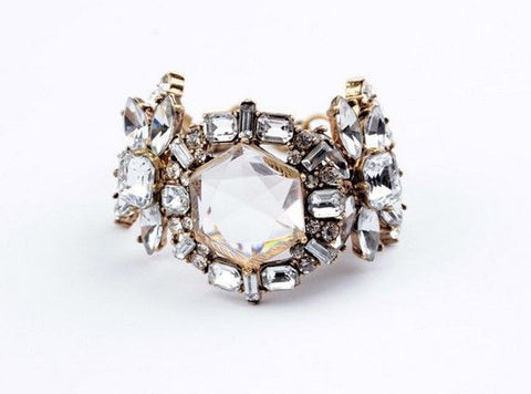 'Dana' Statement Crystal Bracelet