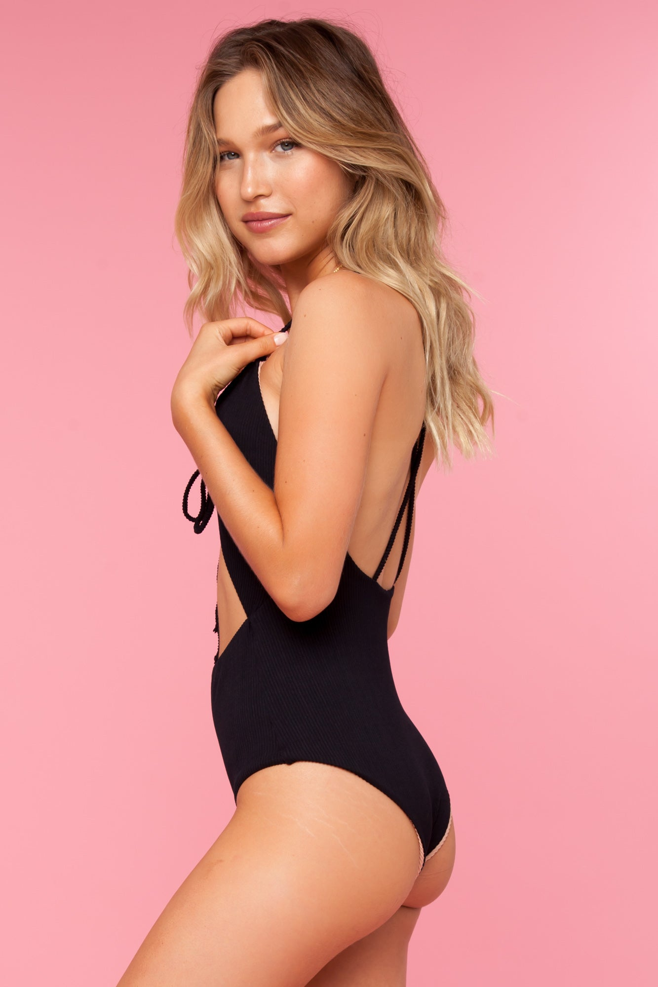 Smitten One Piece - Black Honey