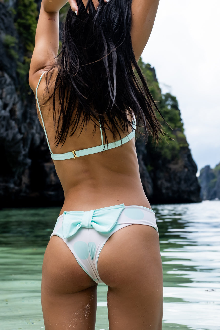 New Classic Bow Bottom - Salty Kiss