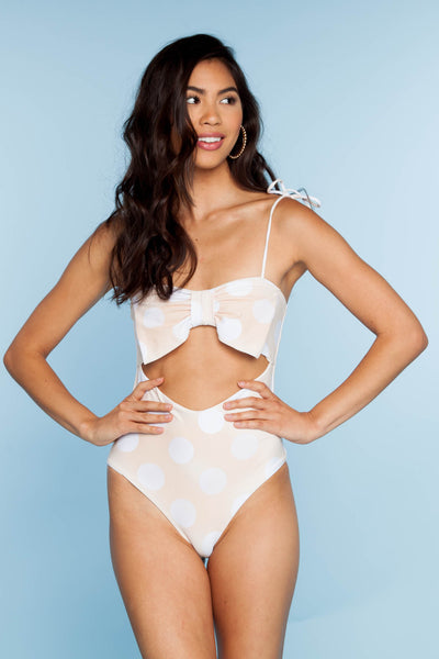 Dazzle One Piece - Sand Dune