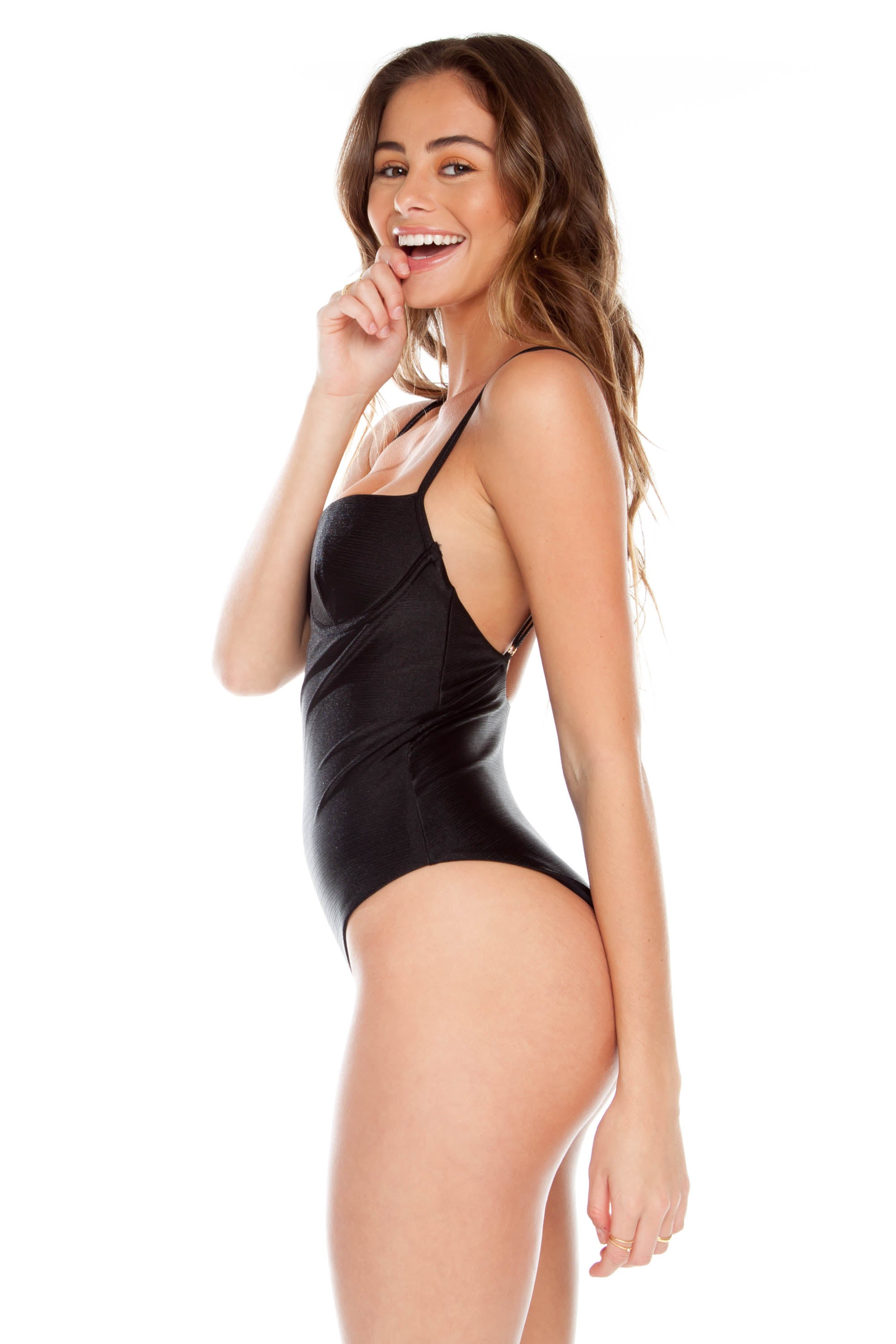 Gidget One Piece - Black Pearl