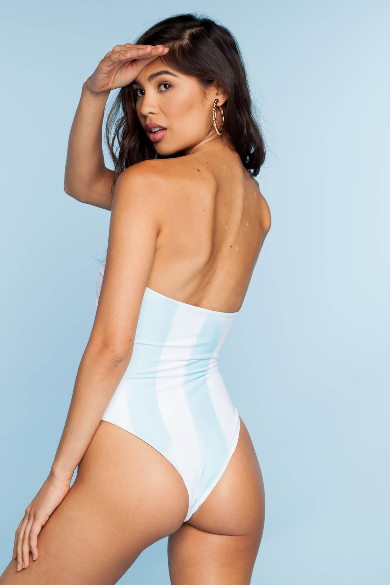 Top Knot One Piece - Deep End