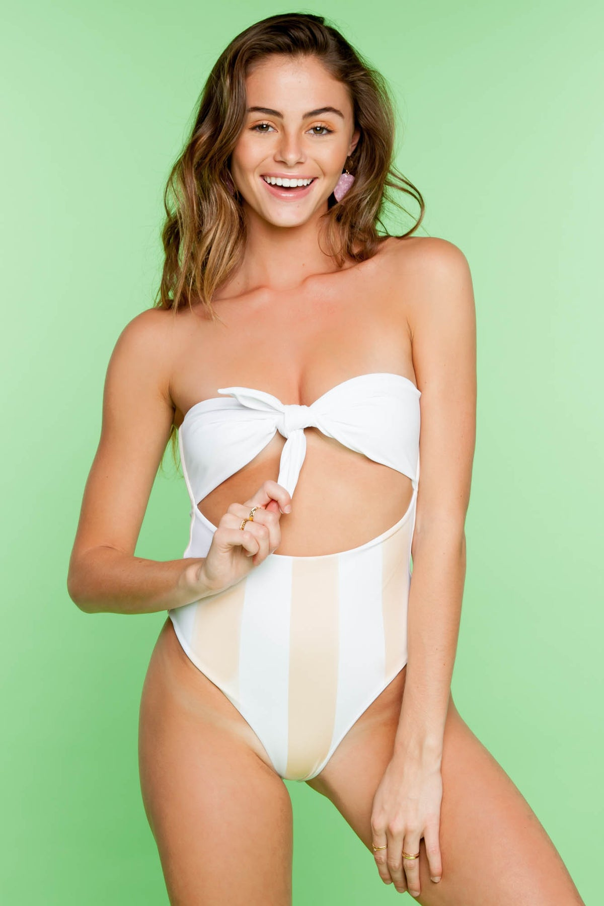 Top Knot One Piece - Skinny Dip
