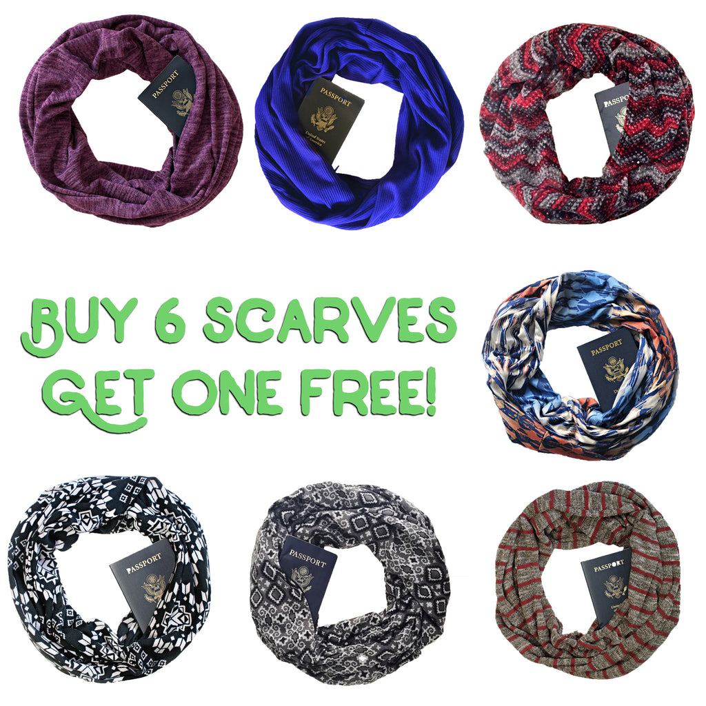 Cyber Monday ~ Deep Discounts on Scarves - We've Never Done This! !!