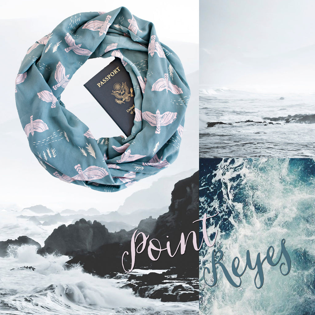 Hello Spring...Break! New Scarves in the Shop Now