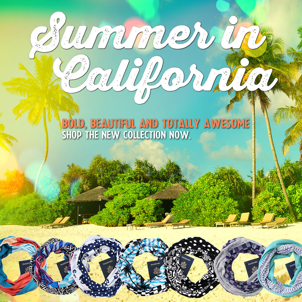 Summer In California collection available now!