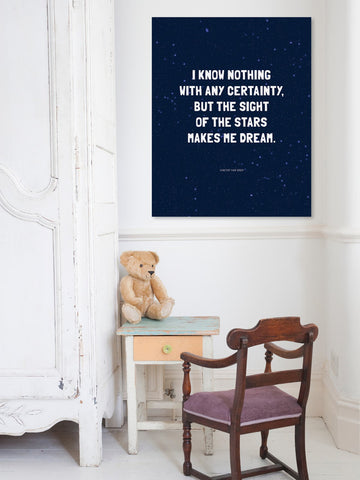 The Stars At Night Print