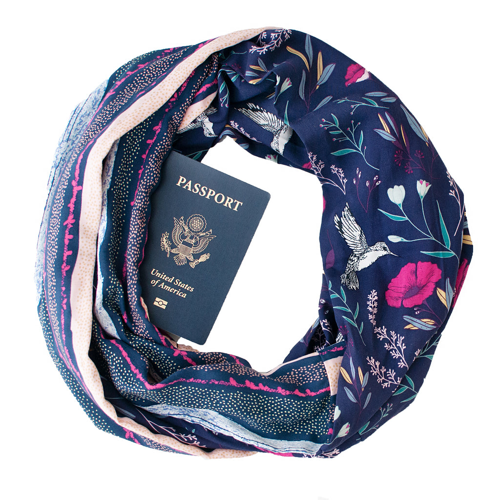 Arboretum Scarf - Speakeasy Travel Supply Co.