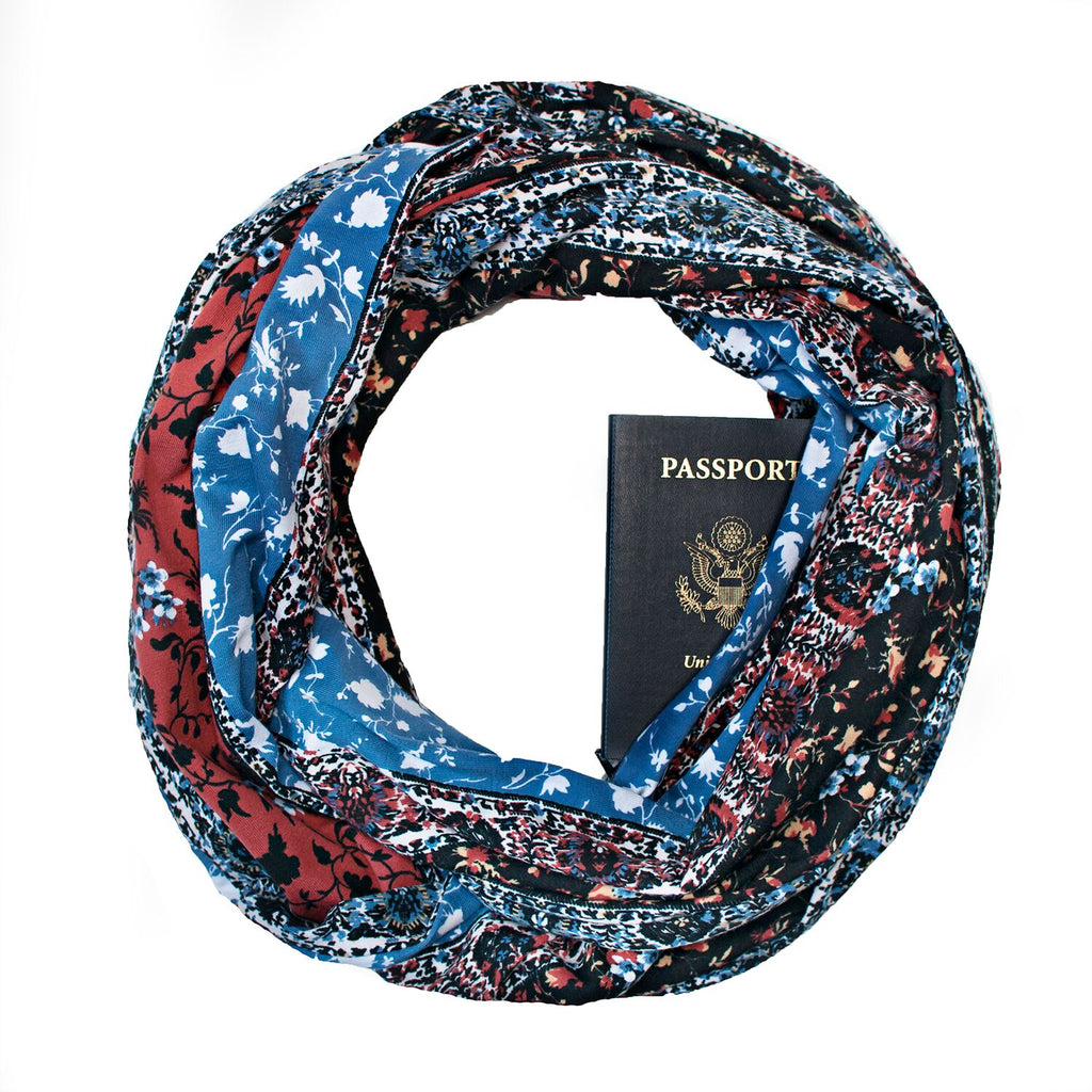 Ashland Travel Scarf - Speakeasy Travel Supply Co.