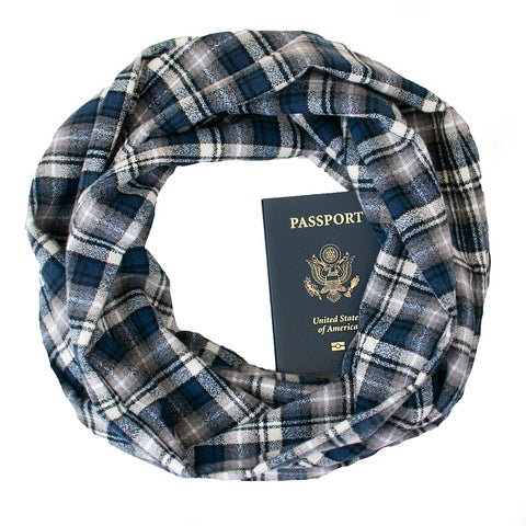 Klamath Falls Flannel Scarf - Speakeasy Travel Supply Co.