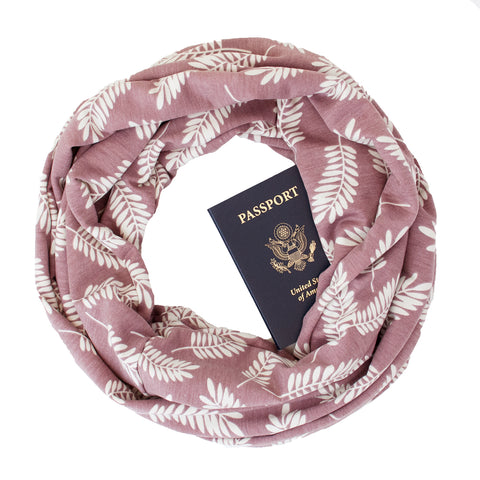 Cascadia Thistle Travel Scarf - Speakeasy Travel Supply Co.