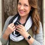 The Travel Bite Eat It All Scarf - Speakeasy Travel Supply Co.
