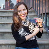 Adventurous Kate Manhattan Bamboo Scarf - Speakeasy Travel Supply Co.