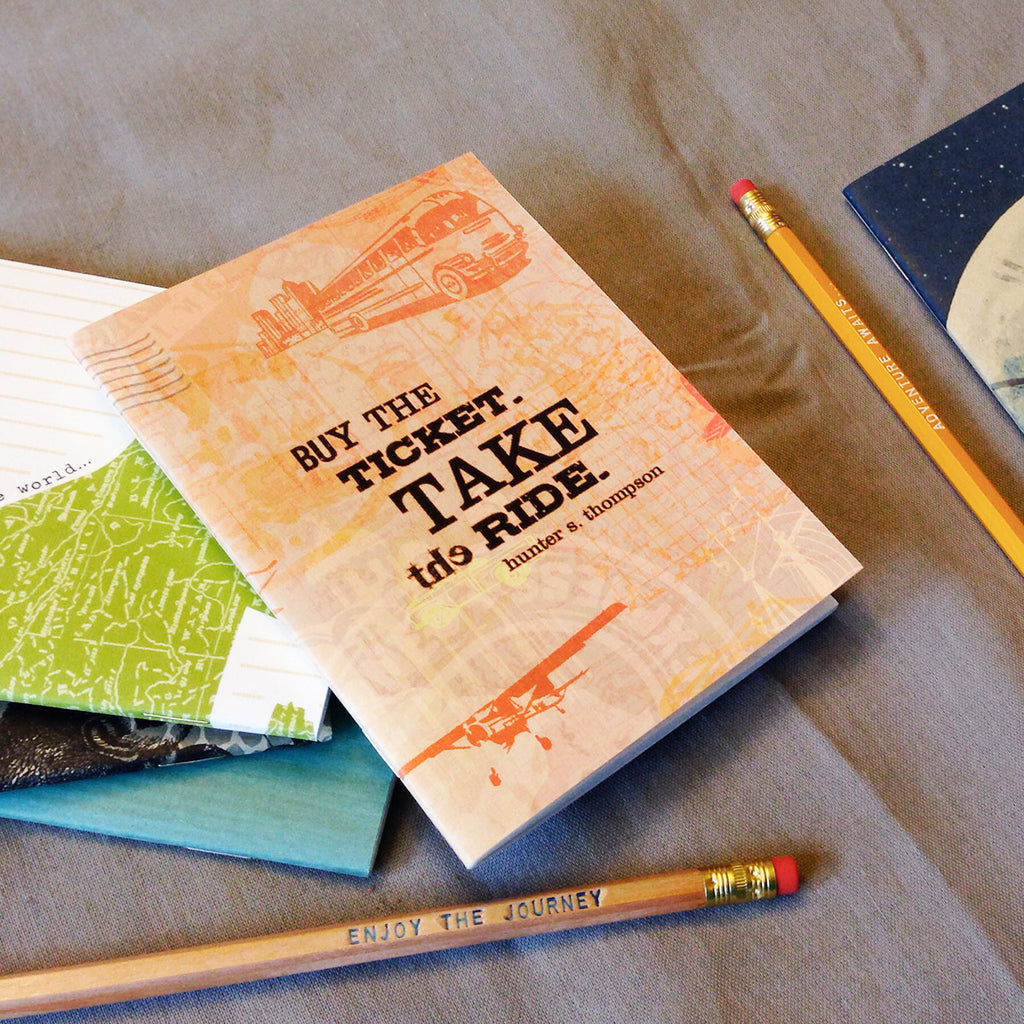 Journey Pocket Notebook - Speakeasy Travel Supply Co.