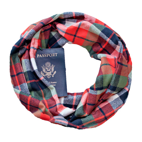 Portsmouth Flannel Scarf - Speakeasy Travel Supply Co.