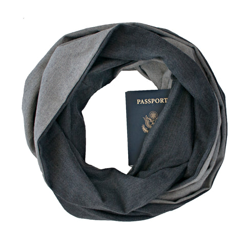 Rockport Flannel Scarf - Speakeasy Travel Supply Co.