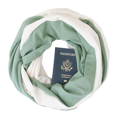 Bamboo Scarf ~ Sage - Speakeasy Travel Supply Co.
