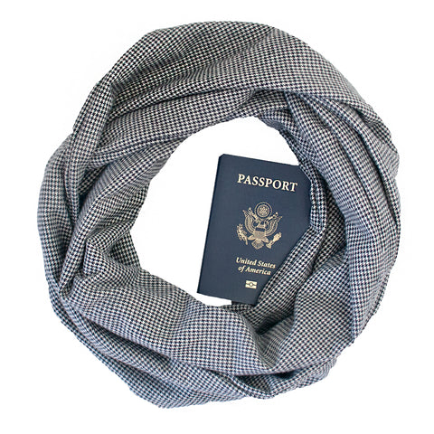 Shetland Flannel Scarf - Speakeasy Travel Supply Co.