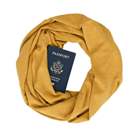 Golden Road Scarf - Speakeasy Travel Supply Co.