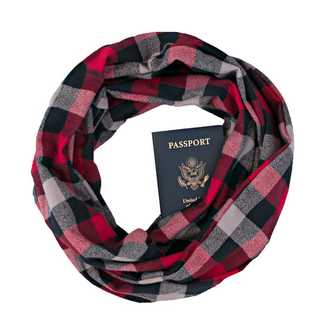 Stowe Flannel Scarf - Speakeasy Travel Supply Co.