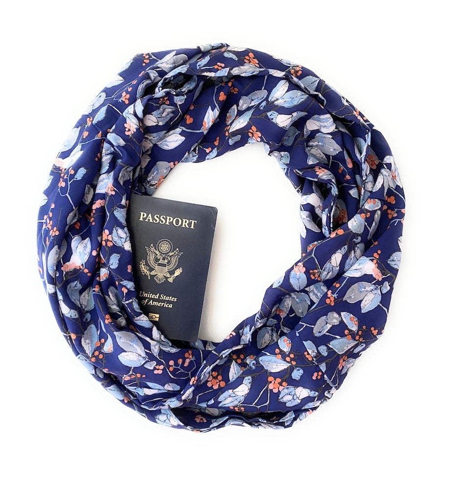 Tallulah Hidden Pocket Scarf